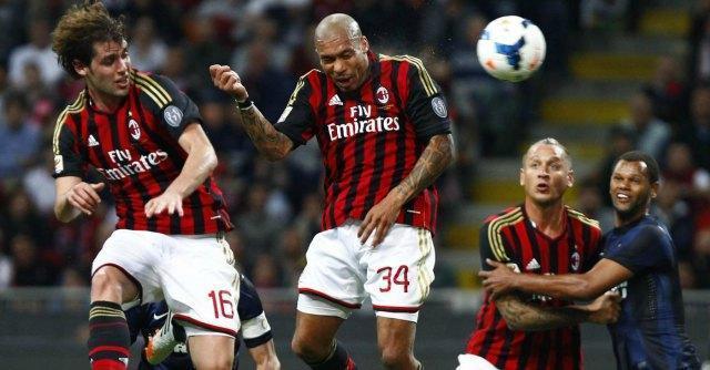 Serie A, Milan-Inter 1-0 grazie alla rete di Nigel De Jong