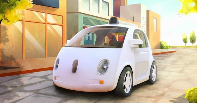 Google lancia l 39 auto che si guida da sola addio volante for L auto che si guida da sola
