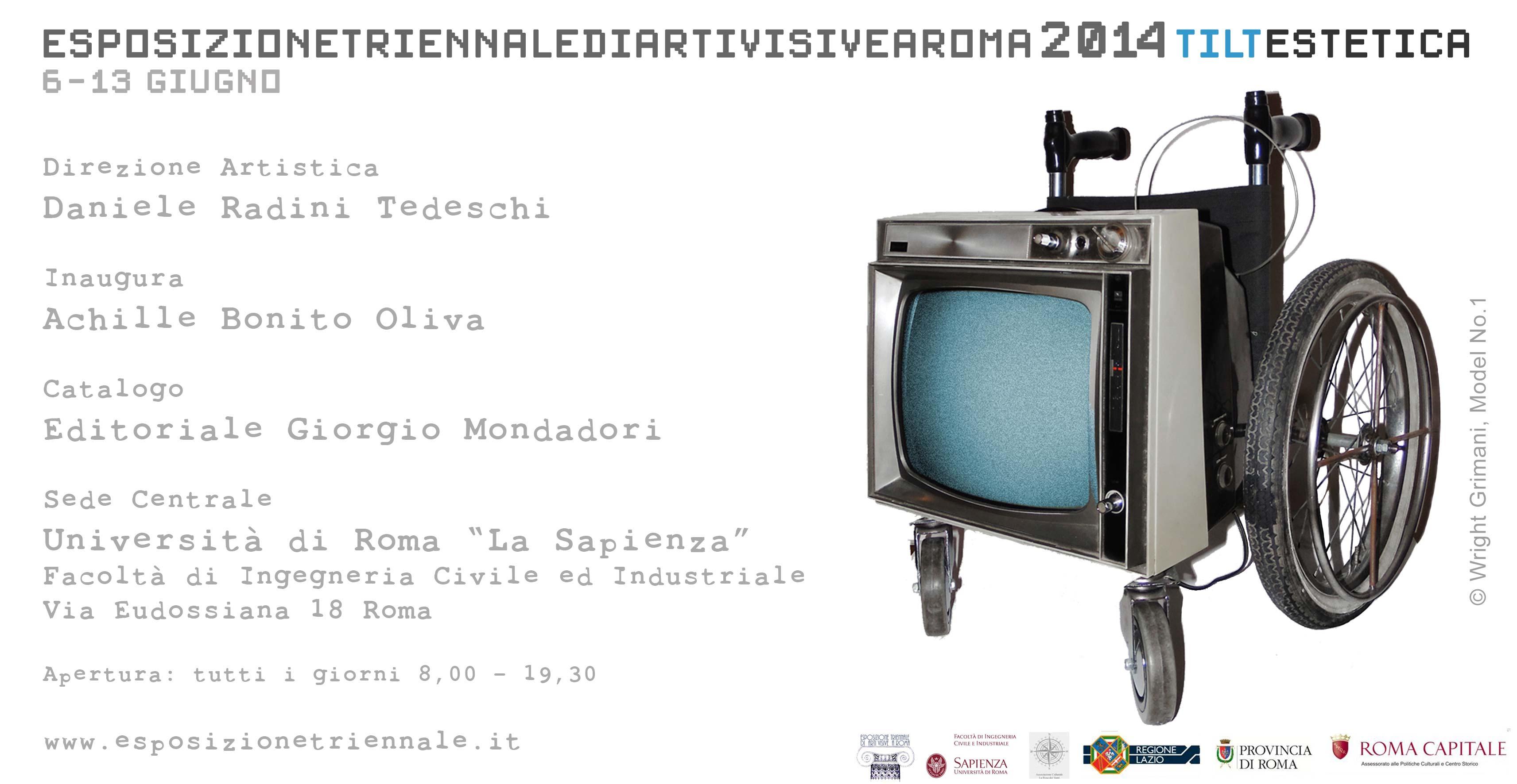 """La Triennale di Arti Visive – Roma, 2014. La nuova frontiera si chiama """"Tiltestetica"""""""
