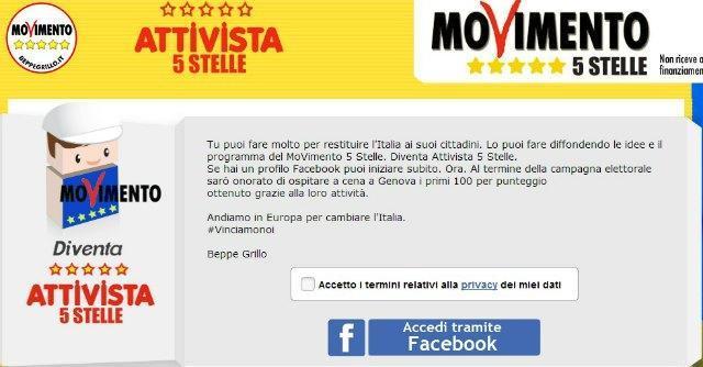 M5S attivista