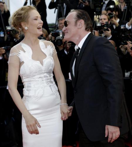 Uma Thurman E Quentin Tarantino Love Story Tra Il Regista