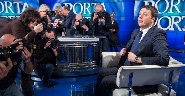 "Matteo Renzi a ""Porta a Porta"""