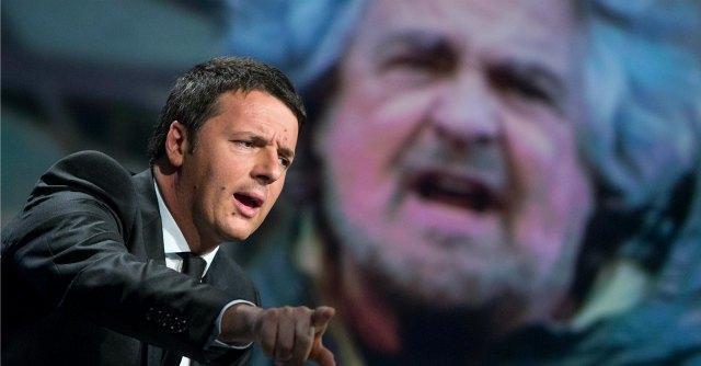 """Il Pil torna negativo, doccia fredda per la """"ripresina"""" di Matteo Renzi"""