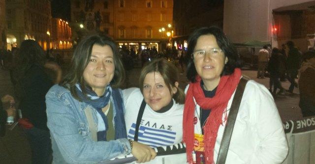 Bologna, sindacalista dell'assemblea Pd al comizio di Tsipras. Il partito vuole cacciarla