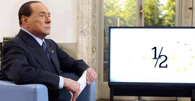 """Berlusconi: """"La sinistra pensa a tassa patrimoniale da 400 miliardi"""""""
