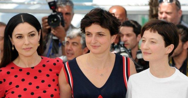 Monica Bellucci e Alice Rohrwacher
