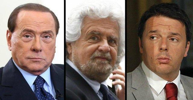 Europee – Berlusconi, Grillo, Renzi & c. Chi l'ha sparata più grossa? (sondaggio)
