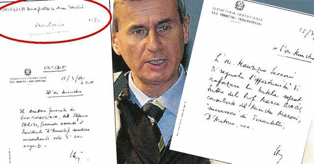 """Marco Biagi, l'ex capo segreteria di Scajola: """"Una lettera per chiedere la scorta"""""""
