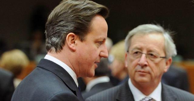 """Ue, lo Spiegel: """"Cameron ha detto che con Juncker Londra esce dall'Europa"""""""