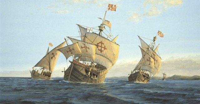 Le caravelle di Cristoforo Colombo