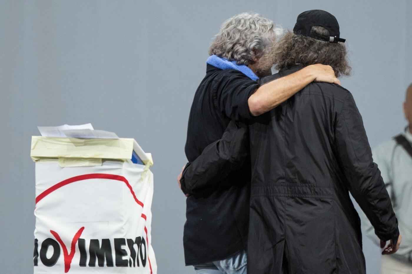 Chiusura della campagna elettorale del Movimento 5 Stelle