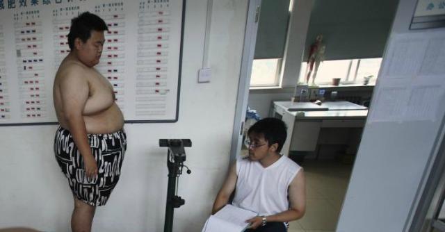cinesi obesi