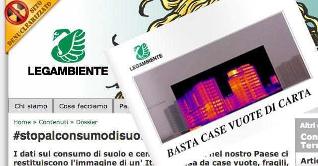 Legambiente: tante, brutte e vuote. Dossier sulle case italiane e la cementificazione