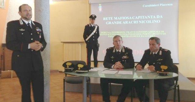 """Piacenza, 5 arresti per 'ndrangheta. """"Infiltrazioni mafiose nella bassa emiliana"""""""