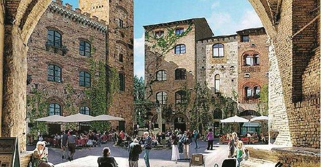 San Gimignano, c'era una volta il borgo Adesso è spopolato e assediato dai turisti