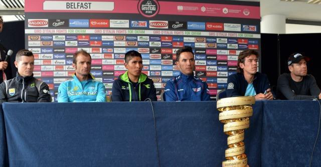 Giro d'Italia 2014: al via da Belfast la carovana rosa in tono minore e senza big