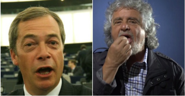 Grillo e Farage