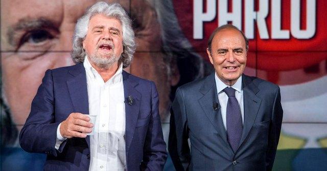 Grillo da Vespa: nel salotto di Porta a Porta ha convinto i moderati? Il sondaggio