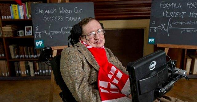 "Mondiali Brasile 2014: la ""formula"" di Hawking per far vincere l'Inghilterra"
