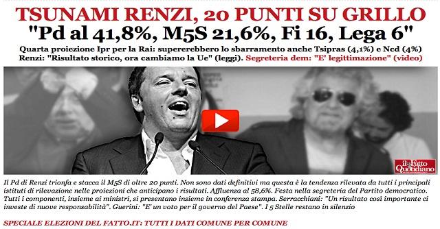 Elezioni 2014 - Homepage