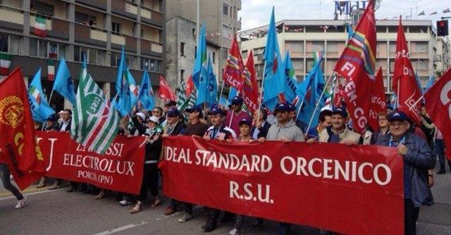 Ideal Standard, 399 lavoratori in mobilità. Sindacati chiedono tavolo urgente