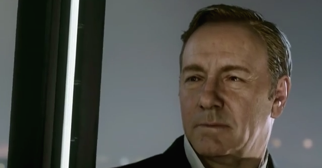 'Call of Duty: Advanced Warfare', Kevin Spacey torna a (video)giocare