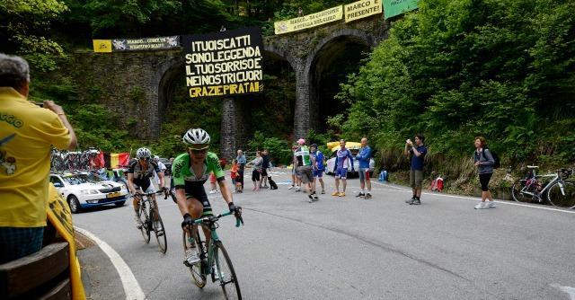 Giro d'Italia 2014: sulla salita di Pantani gloria a Pantano, ma vittoria a Battaglin