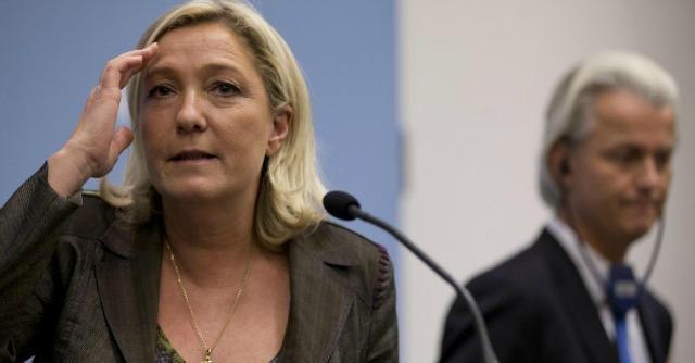 Marine Le Pen e Geert Wilders
