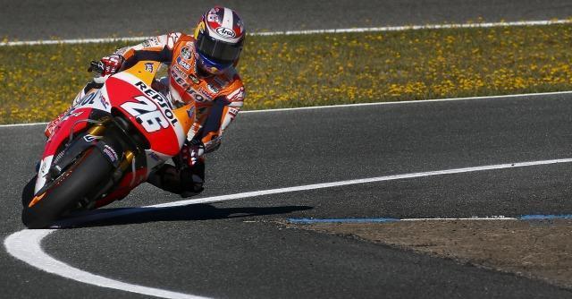 Moto Gp, a Jerez pole di Marquez davanti a Lorenzo e Pedrosa. Quarto Rossi