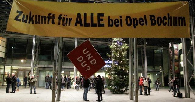 Gm taglia Opel: verso la chiusura dello stabilimento di Bochum, in 3mila a rischio