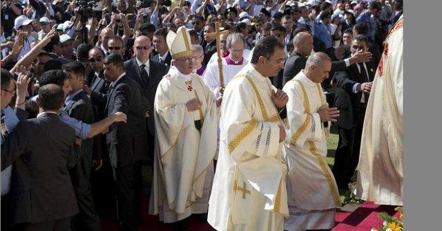 "Terra santa, Francesco: ""Stop alle violenze in Siria, Dio converta i violenti"""