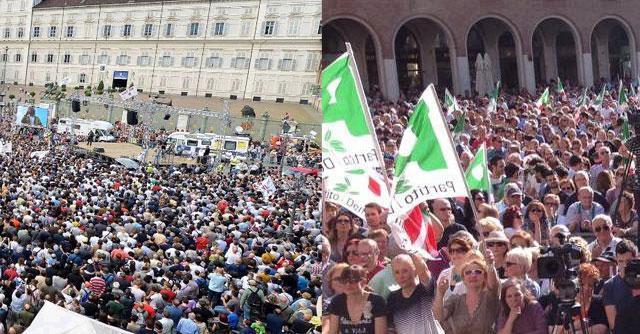 Elezioni 2014, duello di piazze. Grillo a Torino e Renzi in Emilia Romagna