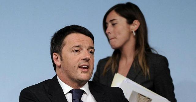 Matteo Renzi and Maria Elena Boschi