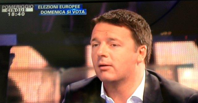 """Europee, Renzi: """"Il voto non è un test sul governo. Cerco i voti dei delusi M5S"""""""