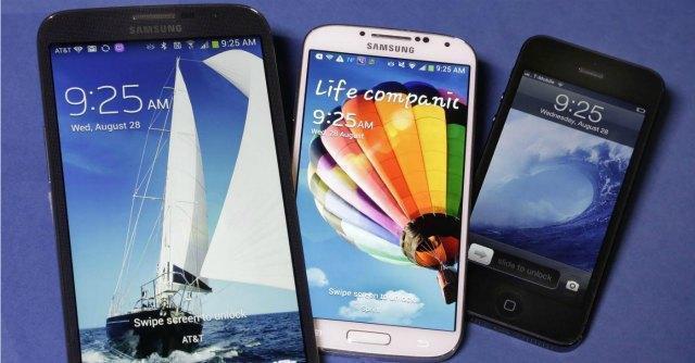 Guerra di brevetti, Samsung copiò Apple ma risarcimento vale solo 120 milioni