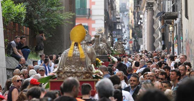 La Fiorentina, il Napoli e San Gennaro