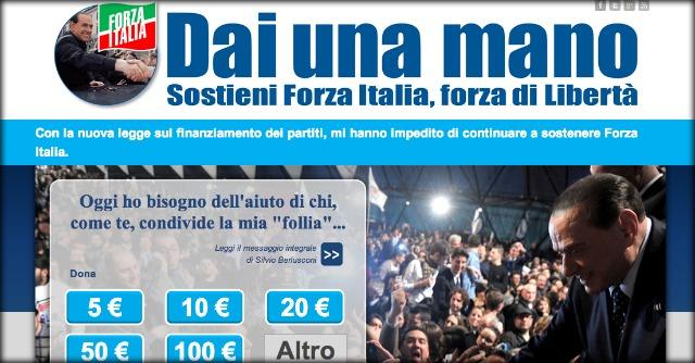 """Forza Italia a pezzi, Berlusconi chiede soldi a italiani: """"Diventa azionista della Libertà"""""""