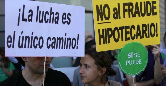 """Spagna, """"buone pratiche"""" bancarie solo sulla carta. Nel 2013 +11% di sfratti"""