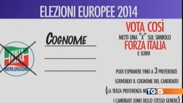 Europee, il Tg5 manda in onda lo spot elettorale di Forza Italia