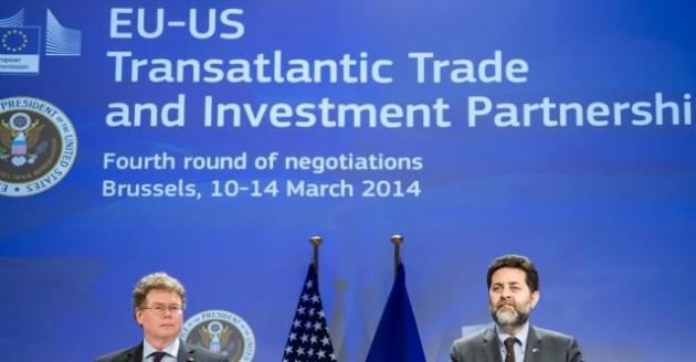 Trattato Ue-Usa sull'area di scambio