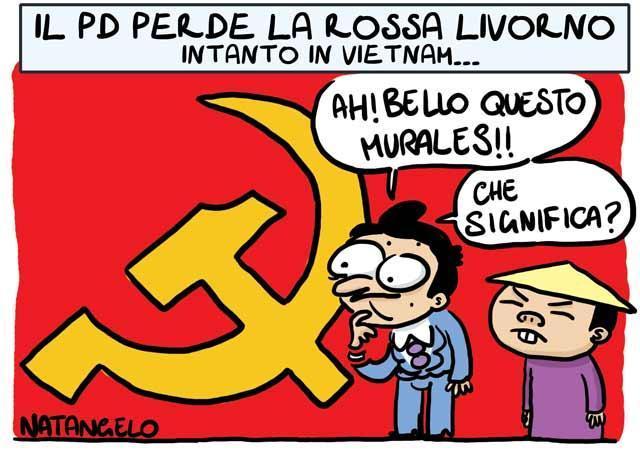La vignetta del giorno: Addio Livorno