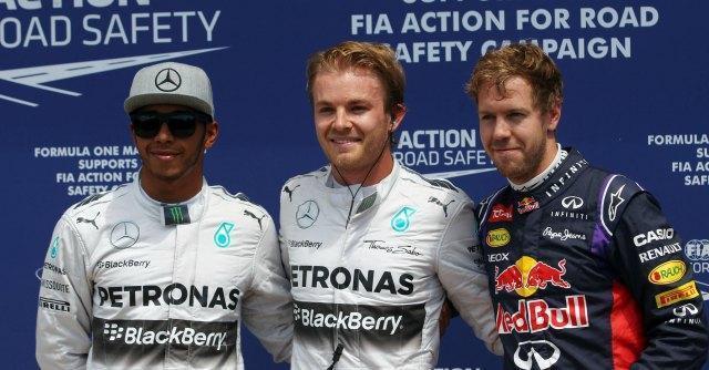 Formula 1, Gran Premio del Canada Rosberg in pole davanti a Hamilton