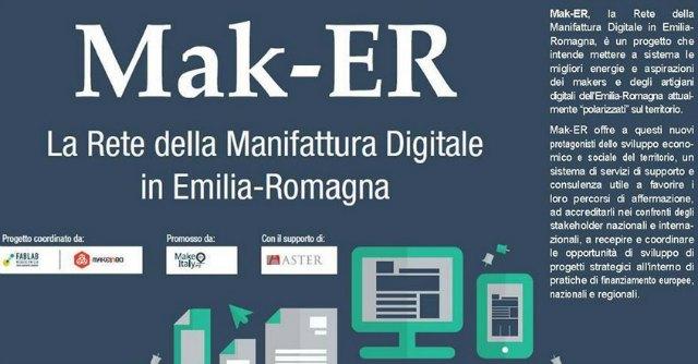 Mak-Er, in Emilia Romagna la prima rete artigiani digitali d'Italia: 'Realtà in crescita'