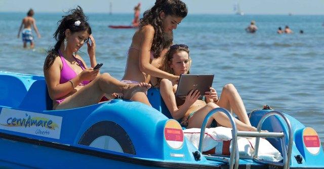 Wifi libero in spiaggia