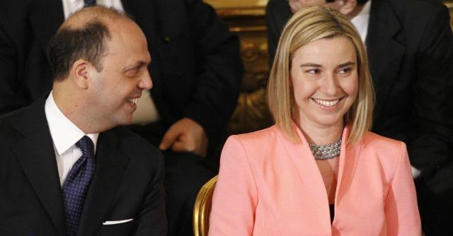 Angelino Alfano e Federica Mogherini