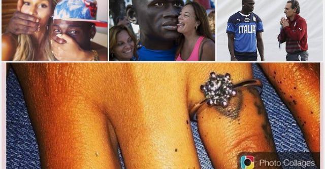 Mondiali 2014, è Balotelli-mania. Ma Mario si sposa: 'Fanny Neguesha dice sì'