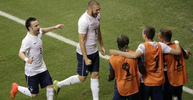 Mondiale 2014: Francia devastante, Svizzera annientata. Finisce 5 a 2