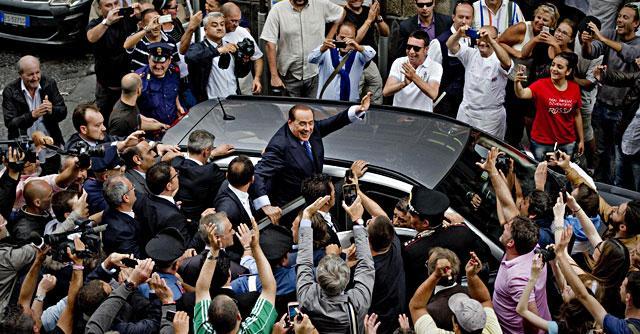 Berlusconi, procura di Napoli valuta incriminazione dopo frasi sui giudici