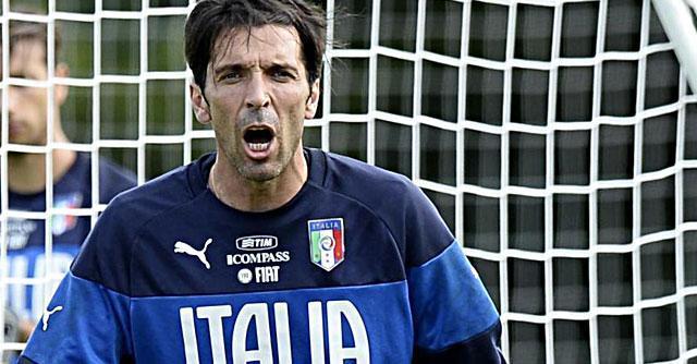 Mondiali 2014, allarme per Gianluigi Buffon alla vigilia di Inghilterra-Italia