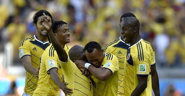 Mondiali 2014, la Colombia travolge la Grecia: finisce 3 a 0